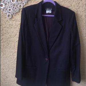 Sag Harbor Women's Size 14 Purple Blazer